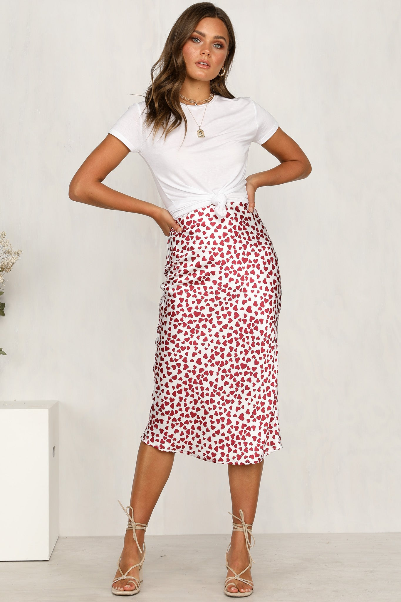 Provocateur Skirt (White)