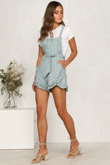 Next Question Playsuit (Sage)