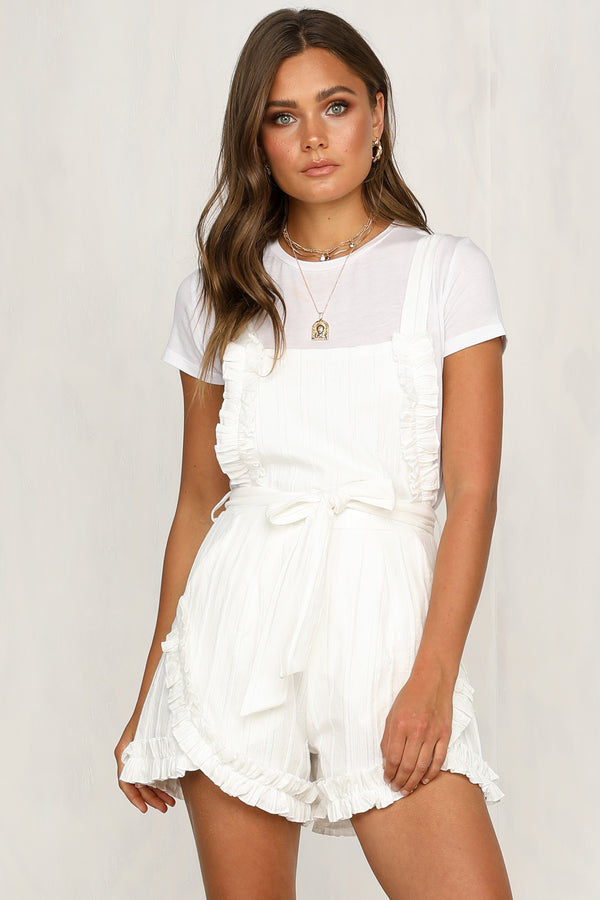 576ca9f8df0b Next Question Playsuit (White)