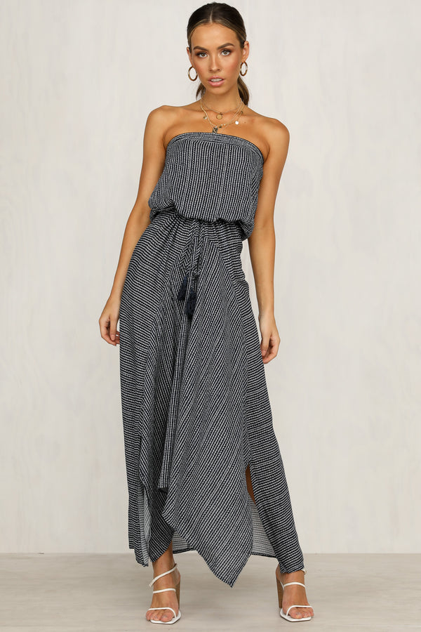 Call You Out Maxi Dress (Navy)