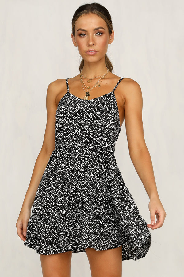 Leap Of Faith Dress (Black)