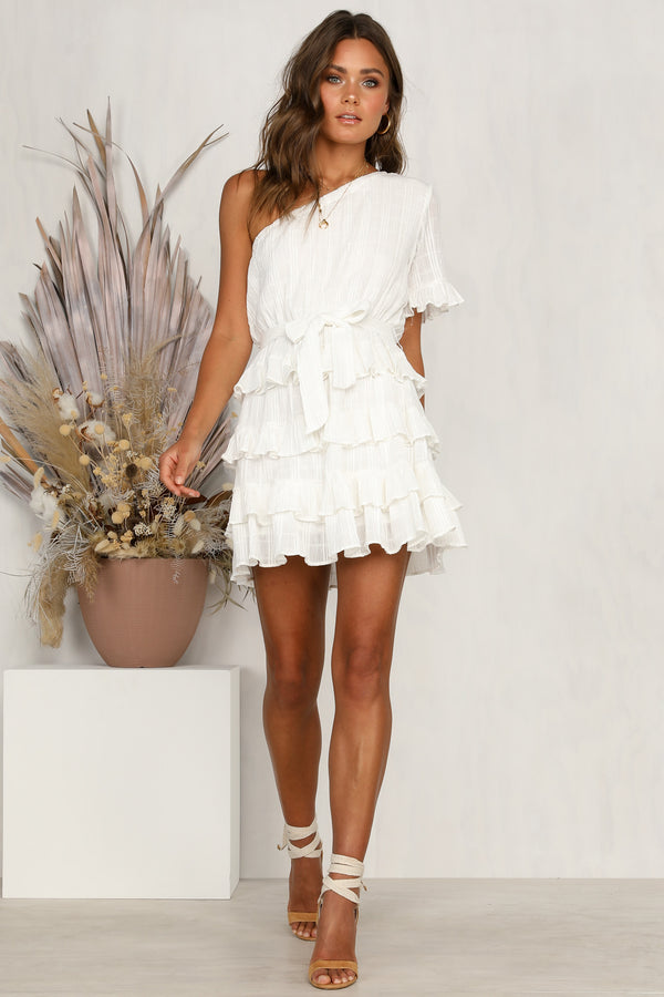 Sky High Dress (White)