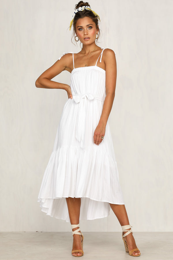 Kenny Dress (White)