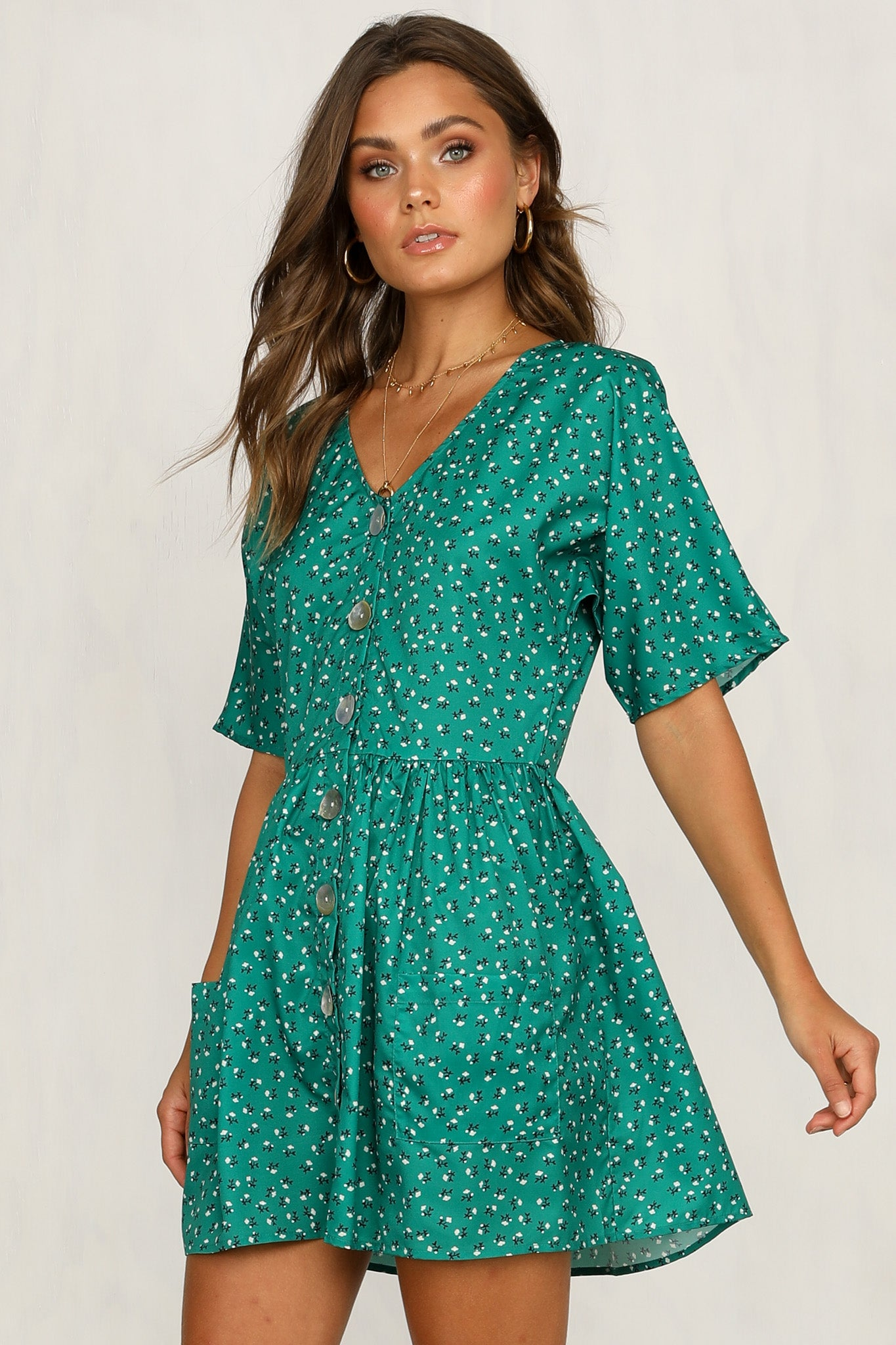 Captivated Dress (Green)