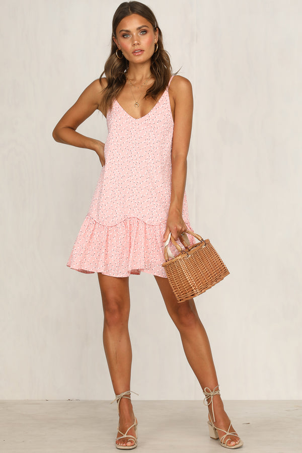 Lay It Down Dress (Pink)
