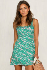 Love On The Side Dress (Green)
