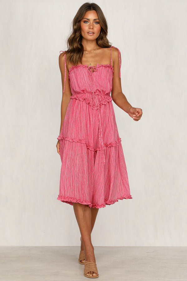 Drift Over Dress (Fuchsia)