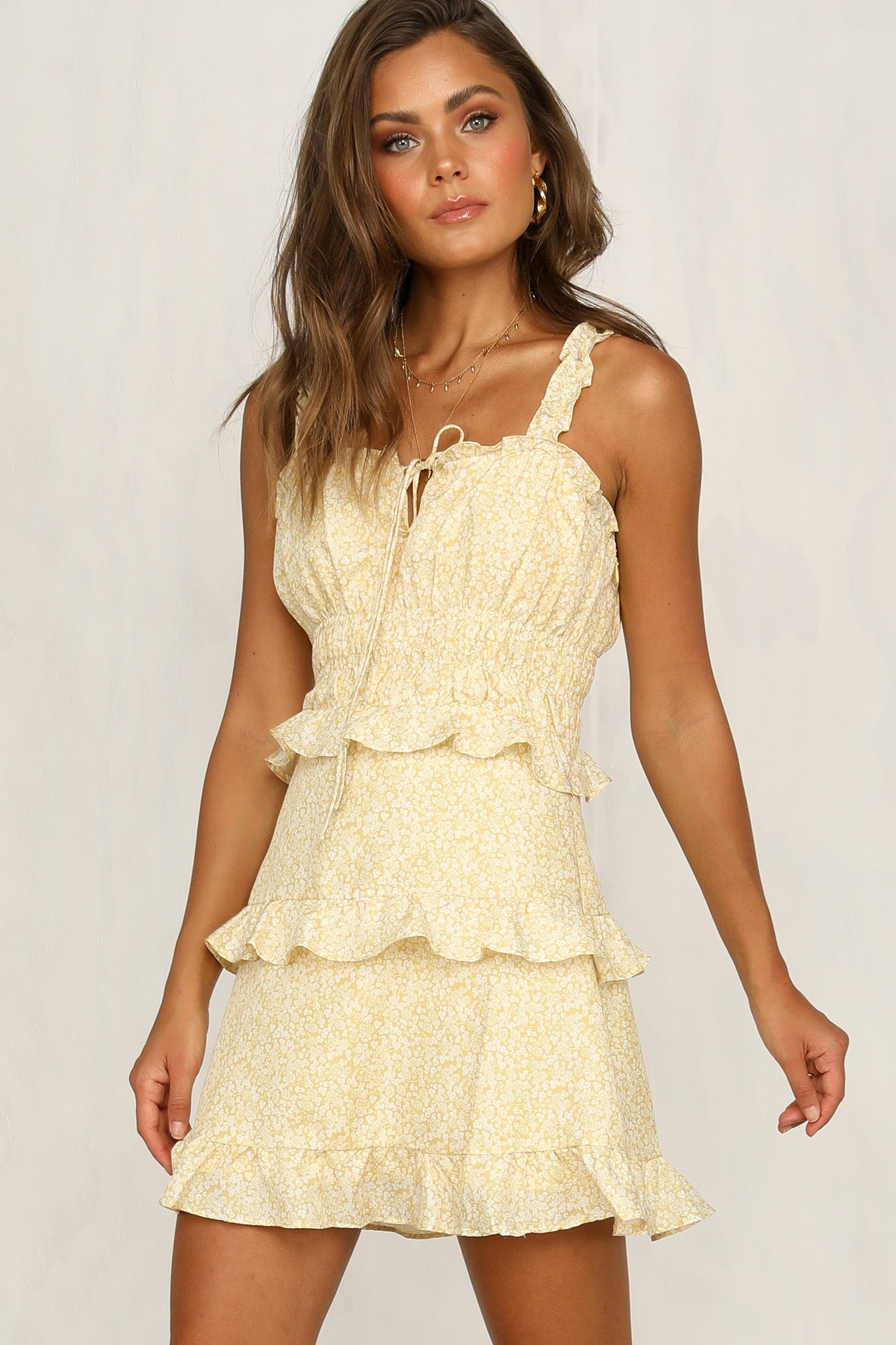 Better For You Dress (Yellow)