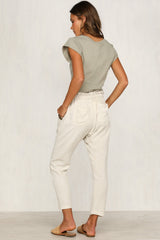 Satisfaction Top (Khaki)