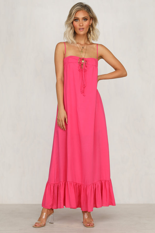 Cassie Dress (Fuchsia)