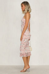 Jaw Dropper Dress (Pink Floral)