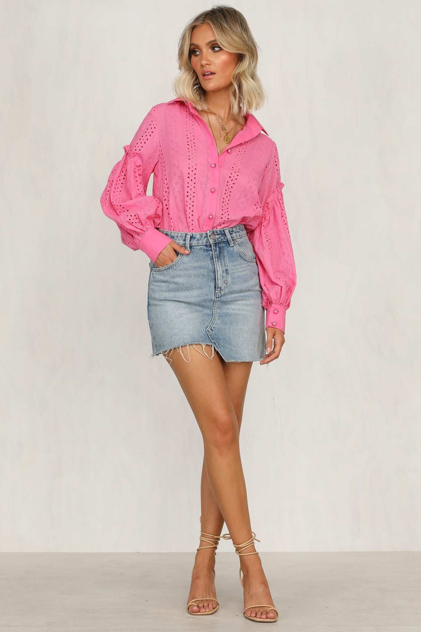 Ellington Top (Pink)