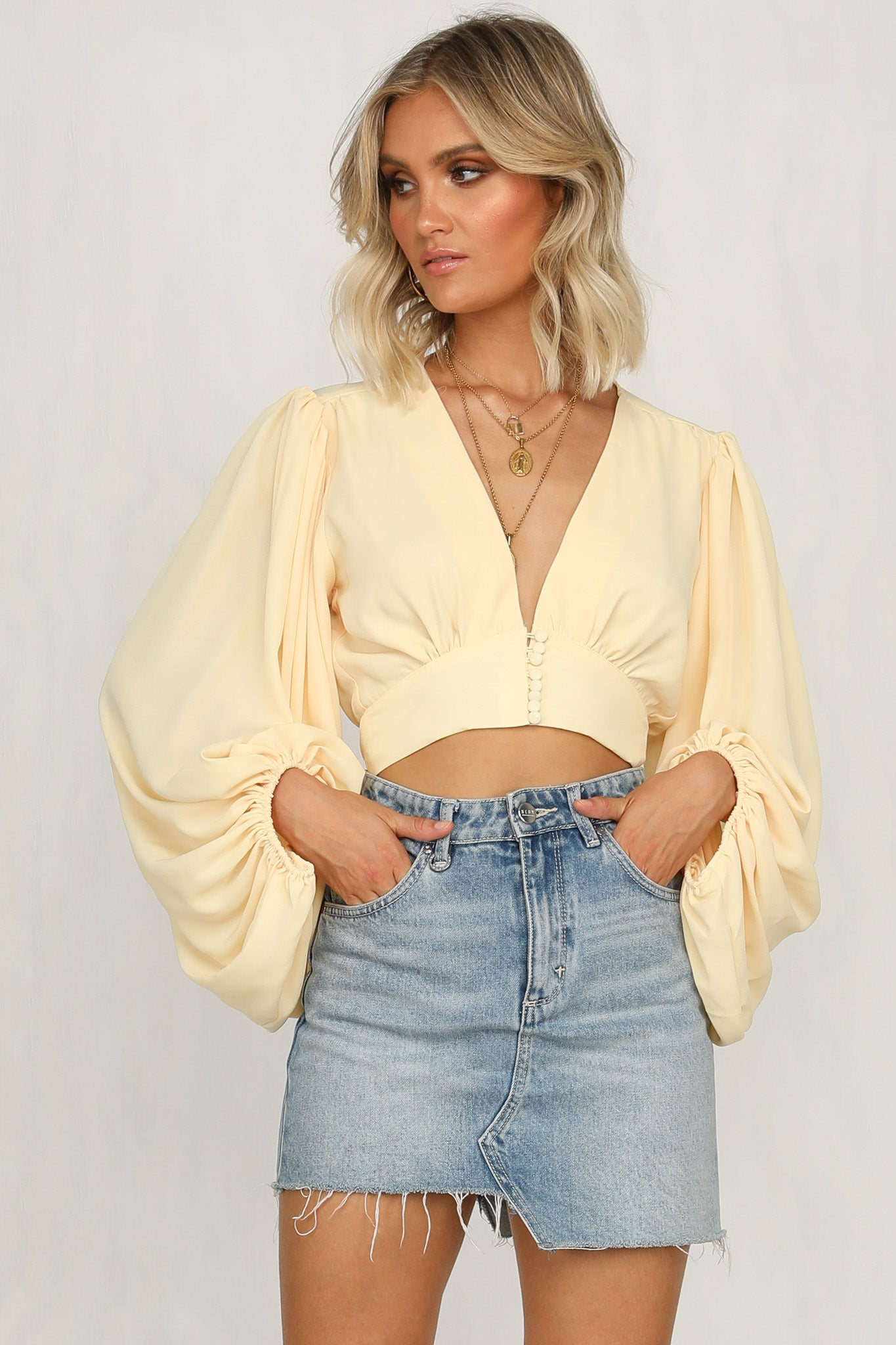 Pixie Top (Yellow)