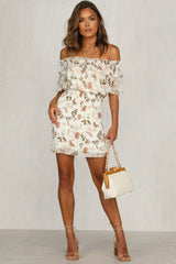 Picnic Party Dress (Ivory)