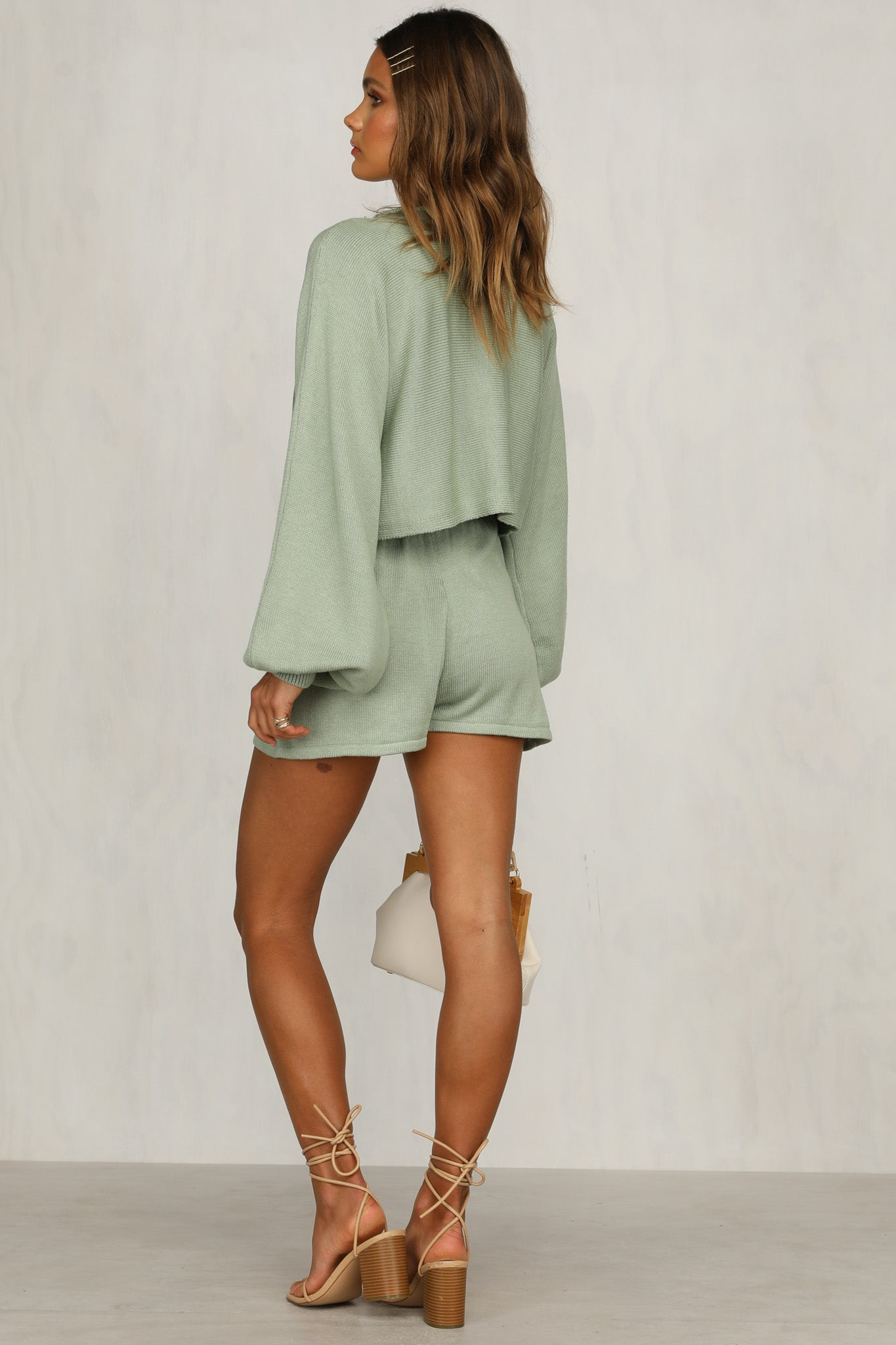 Chantelle Knit Top (Sage)