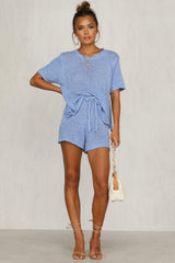Finn Knit Set (Blue)