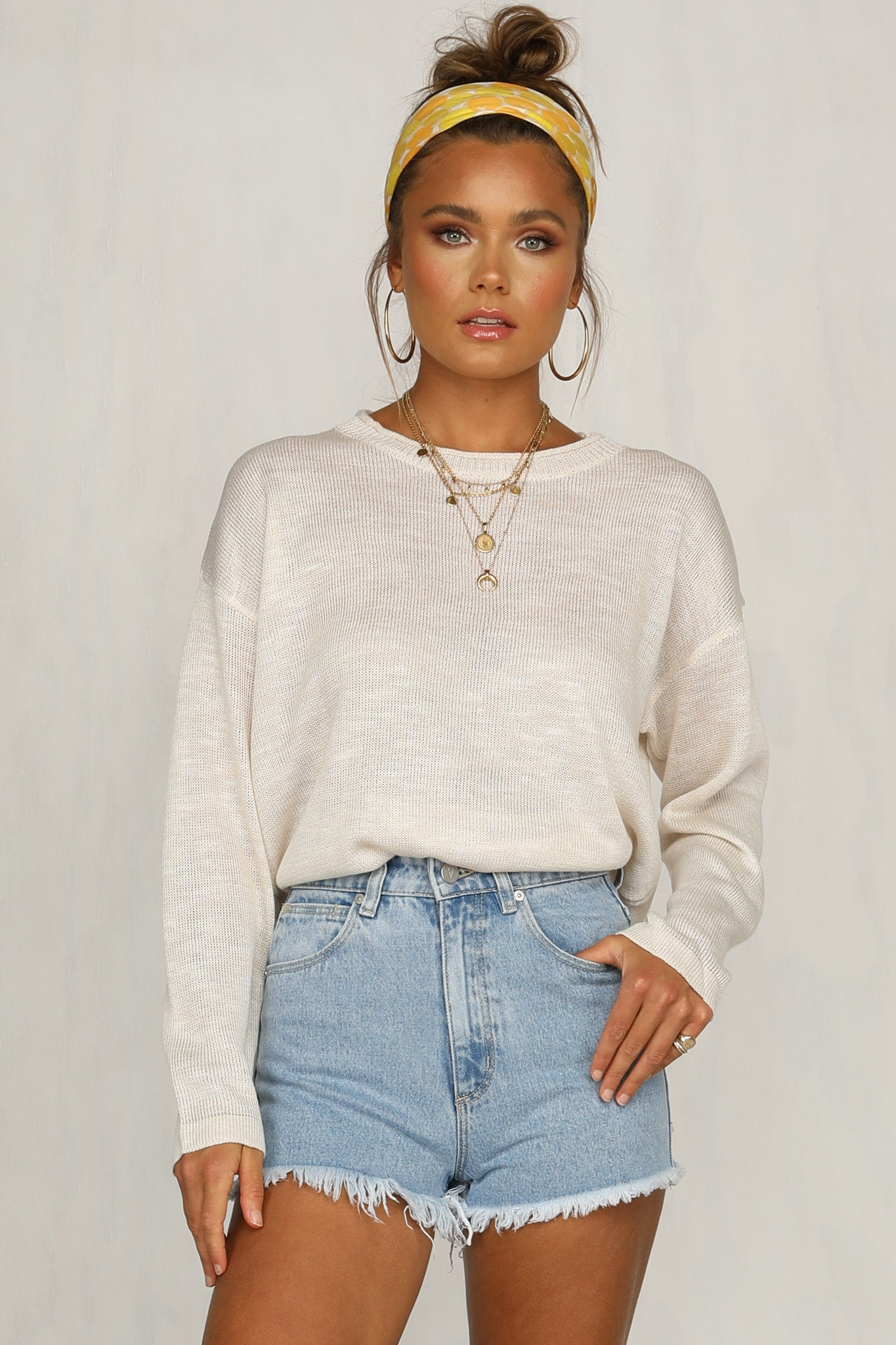 Lexie Knit Top (Nude)