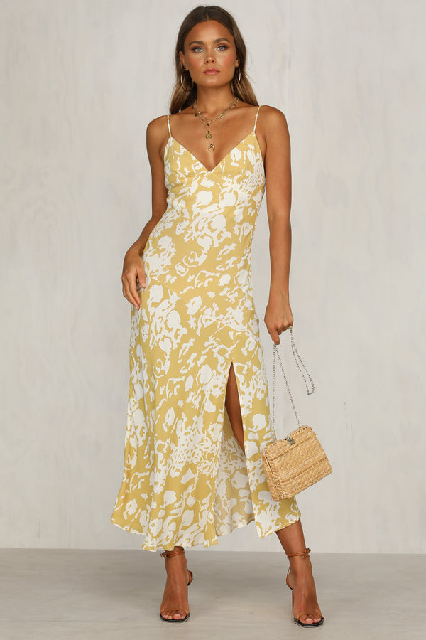 Float Away Dress (Yellow)