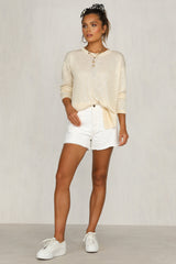 Lexie Knit Top (Sand)