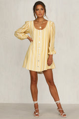 Border Lines Dress (Stripe)