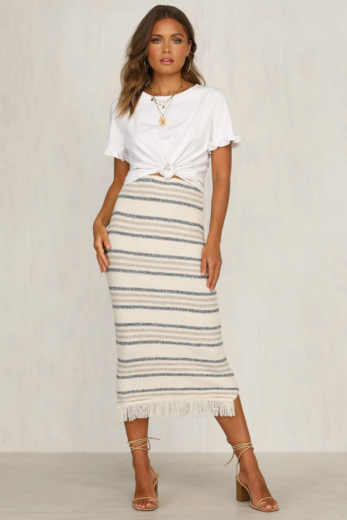 Annikah Knit Skirt