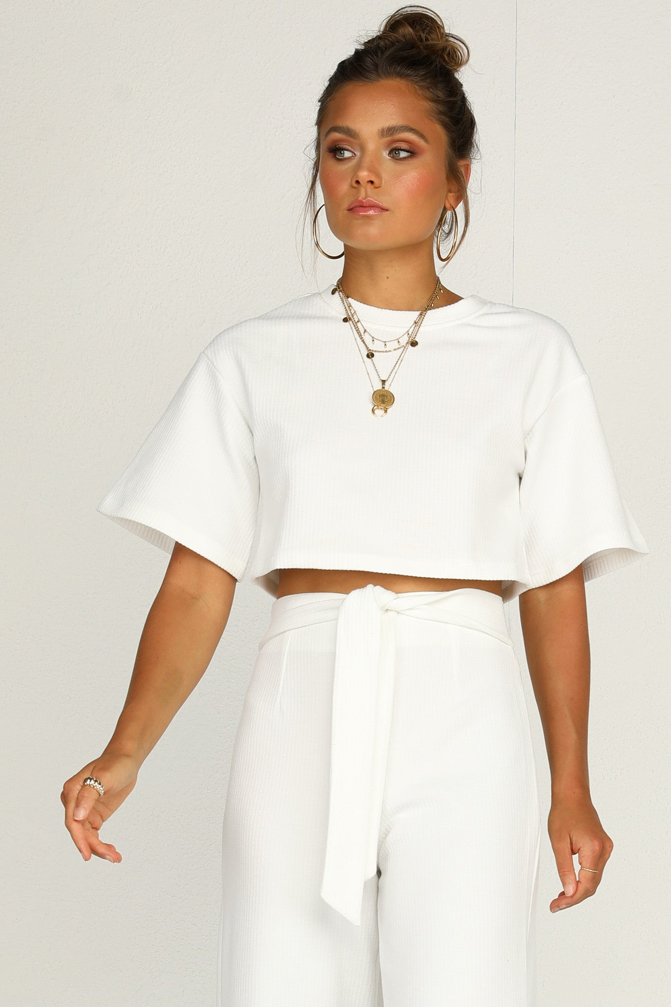 Love Trap Top (White)