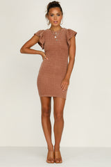 Annika Dress (Rust)