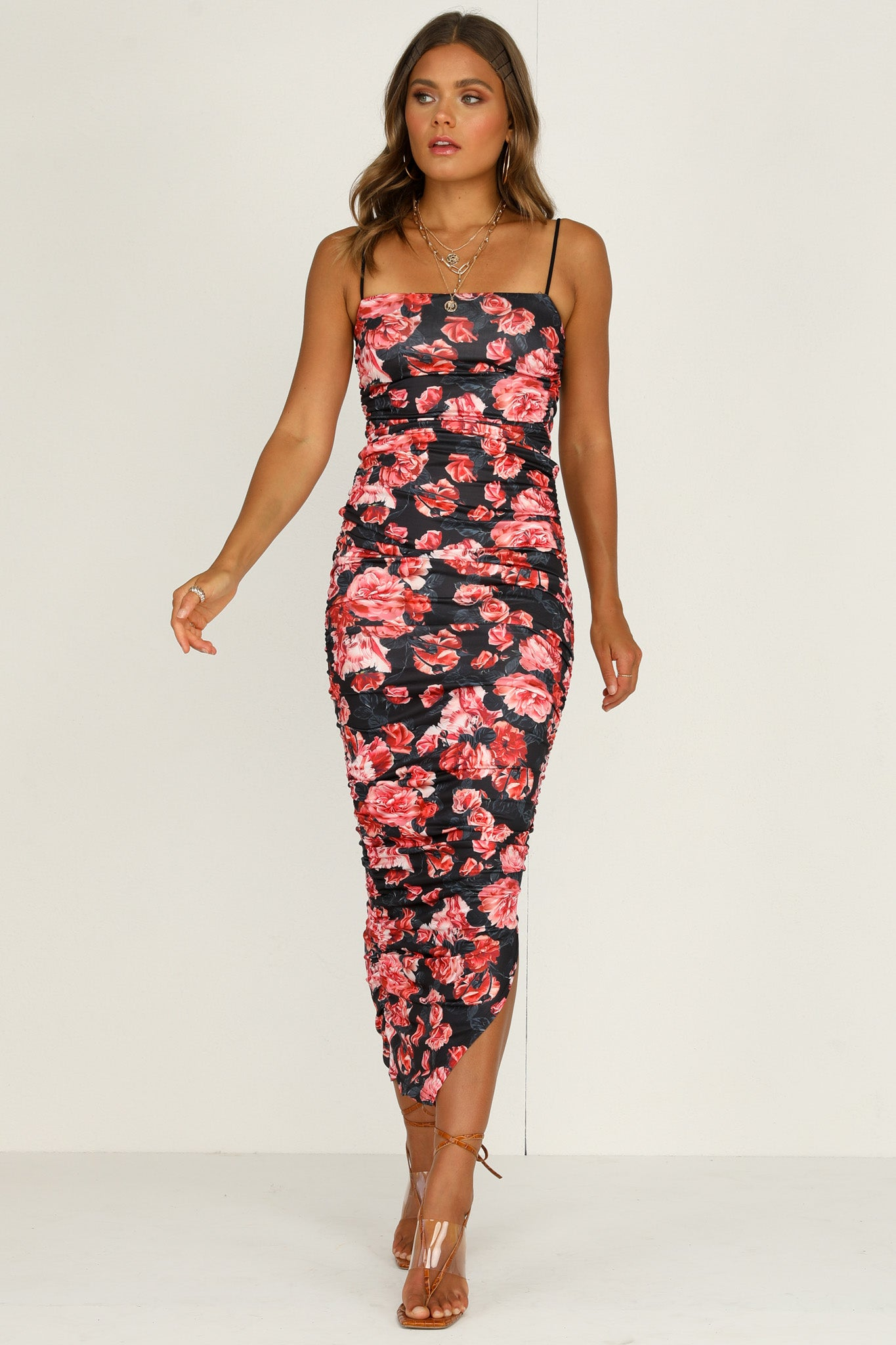 Orchid Dress (Black)