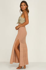 Rolling In Skirt (Tan)