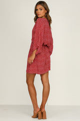 Elke Dress (Red)