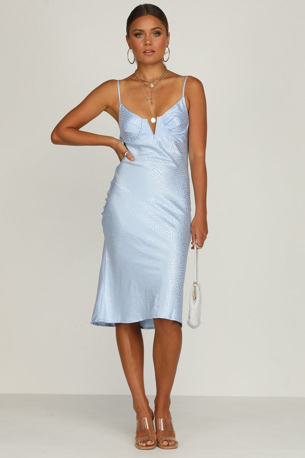 Whisper Dress (Blue)