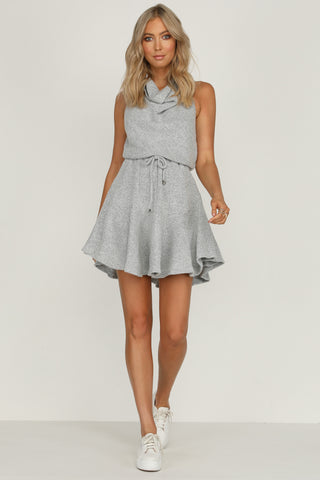 Rose Valley Dress (Grey)
