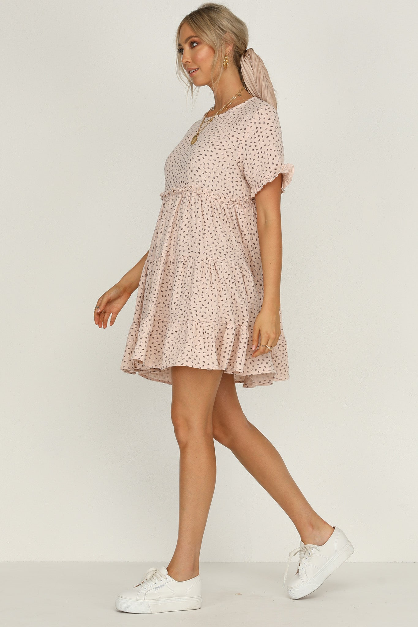 Slice Of Heaven Dress (Pink Floral)