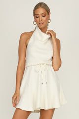 Rose Valley Dress (Ivory)