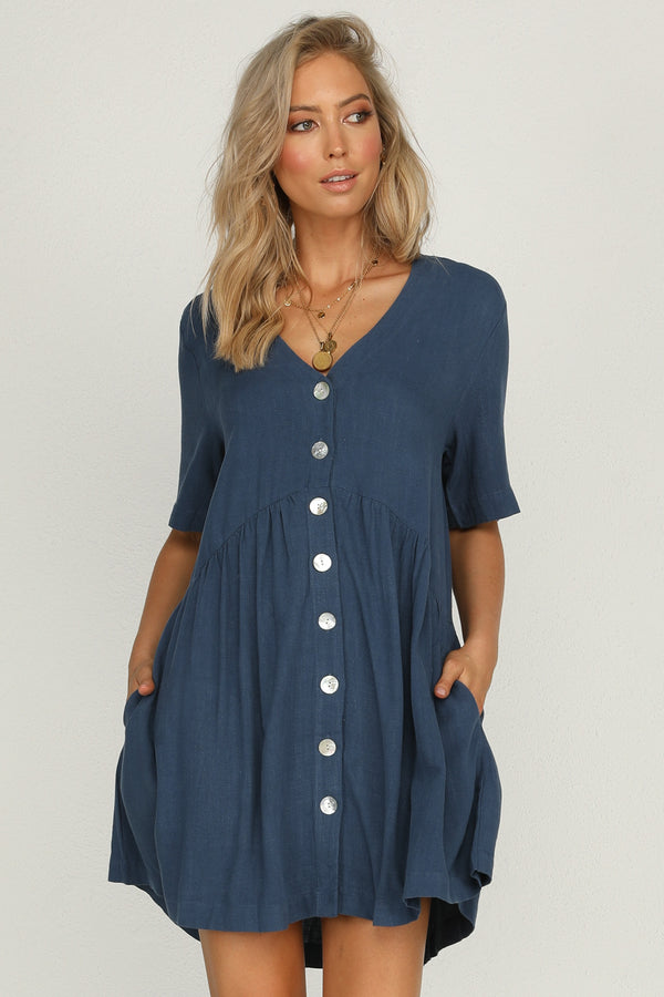 Double Time Dress (Blue)
