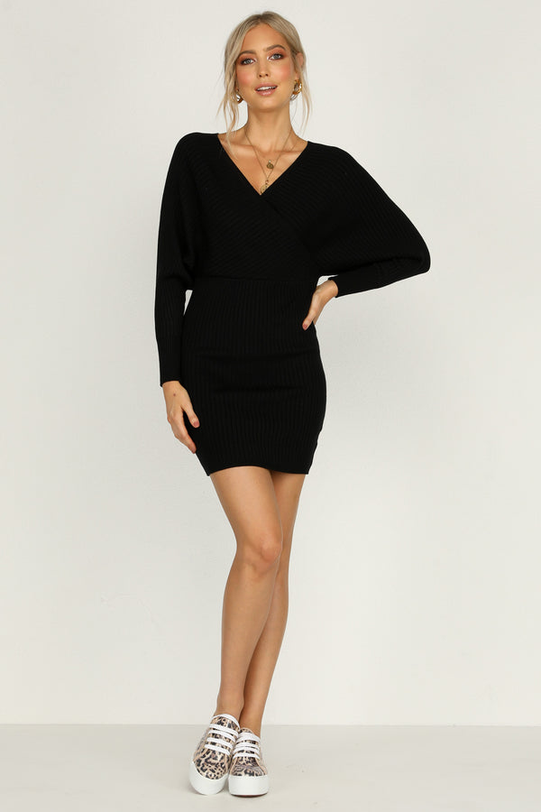 Sweet Talker Dress (Black)