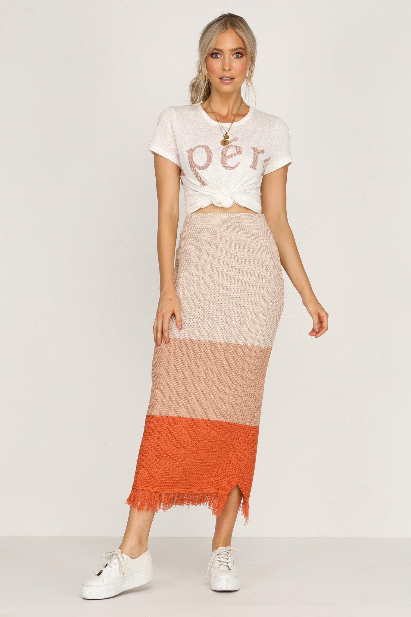 Mary Bell Skirt (Rust)