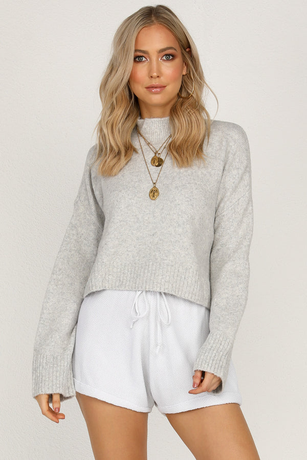 Shine A Light Knit (Grey)