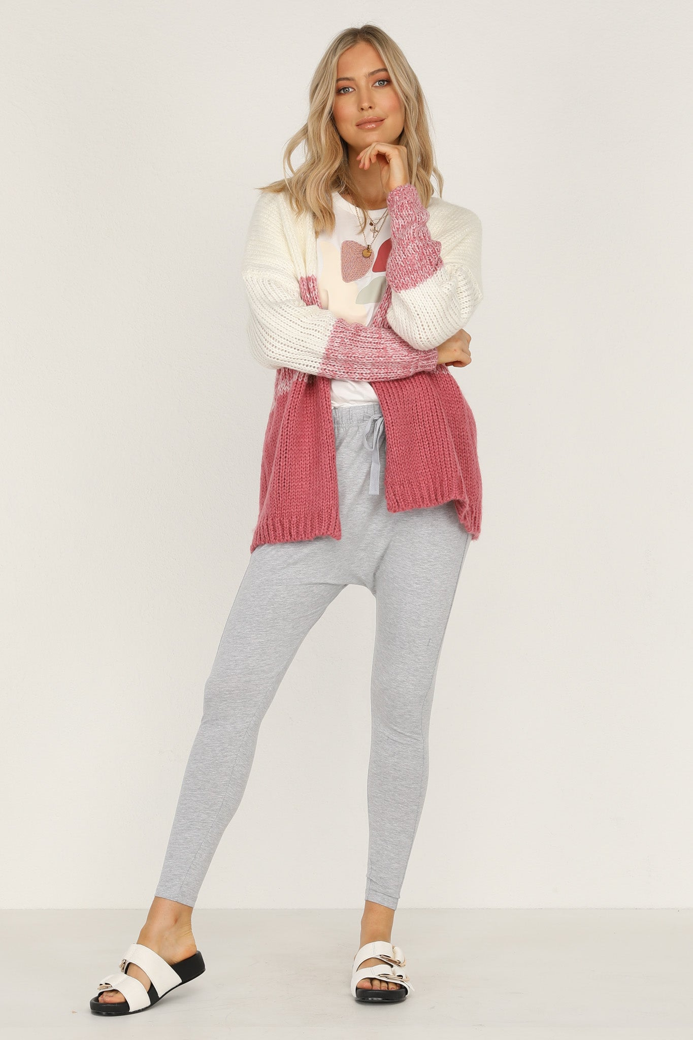 Day Done Cardigan (Rose)