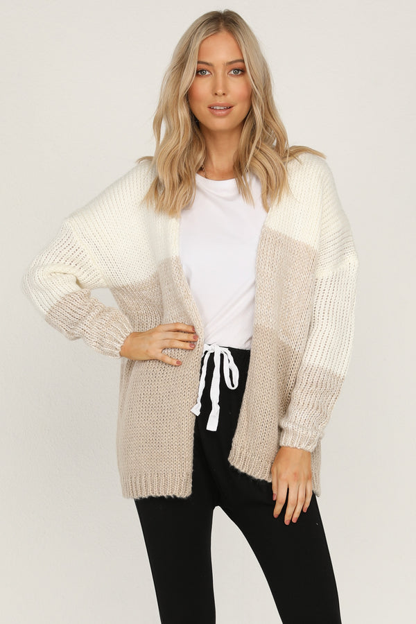 Day Done Cardigan (Beige)