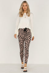 Mila Pants (Blush Leopard)