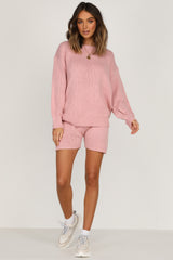 Pink Sugar Knit Shorts