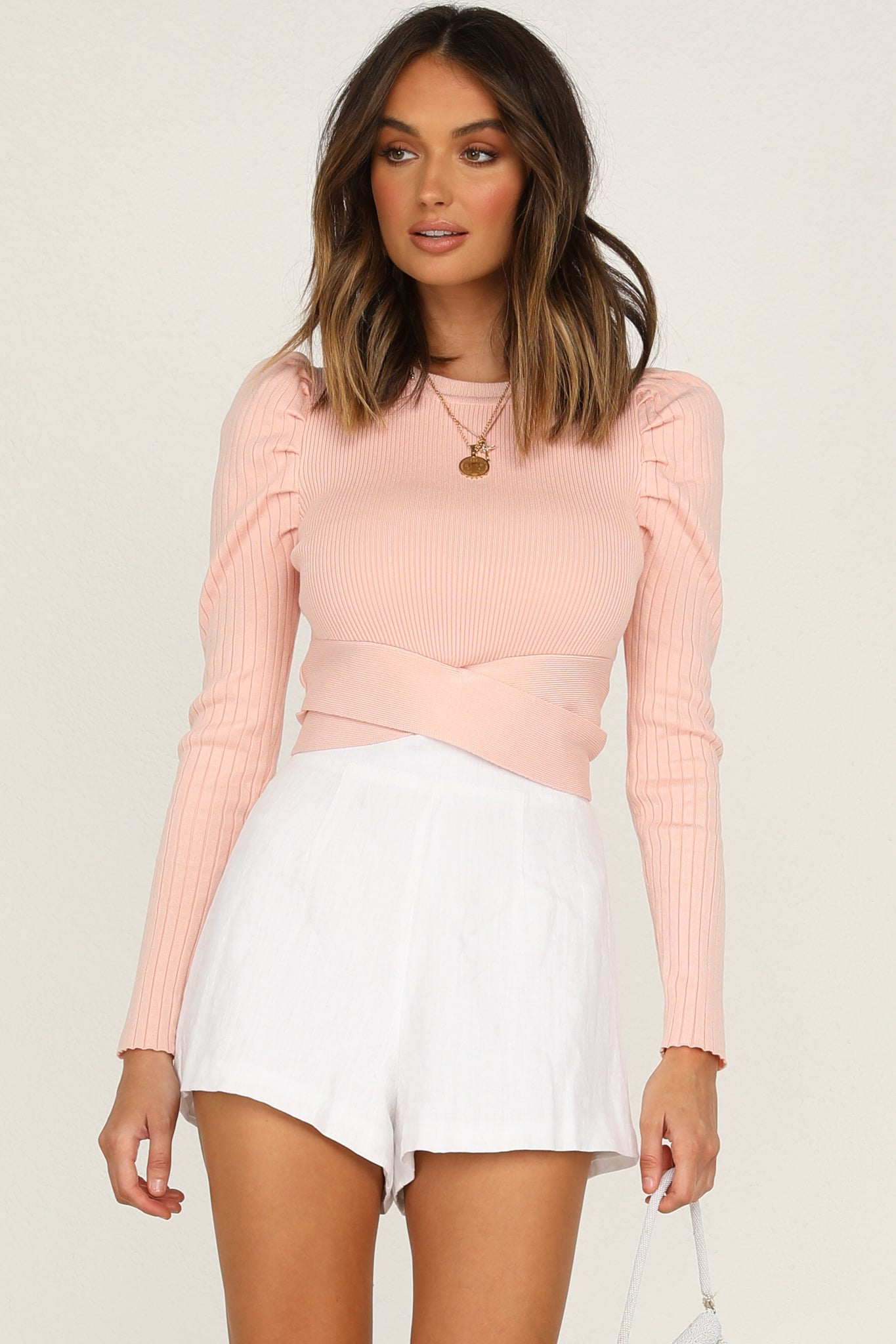 Fall From Heaven Top (Pink)