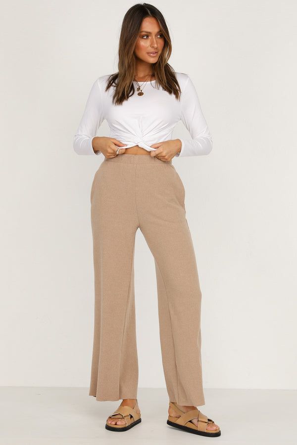 Me And You Knit Pants (Tan)