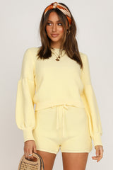 Hendrix Knit Top (Yellow)