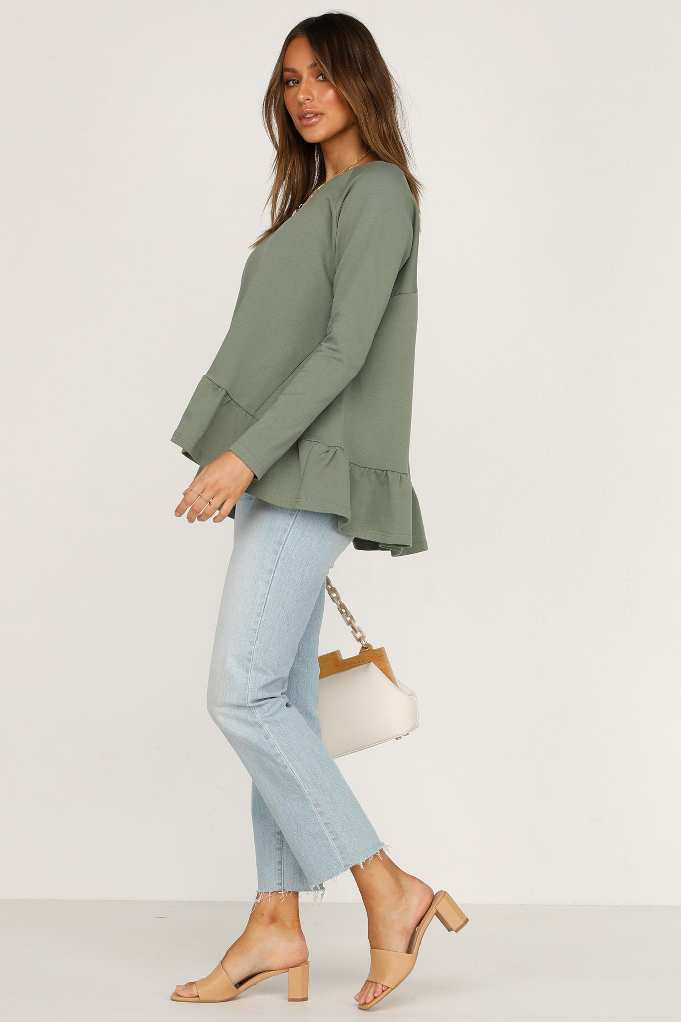 On The Level Top (Khaki)