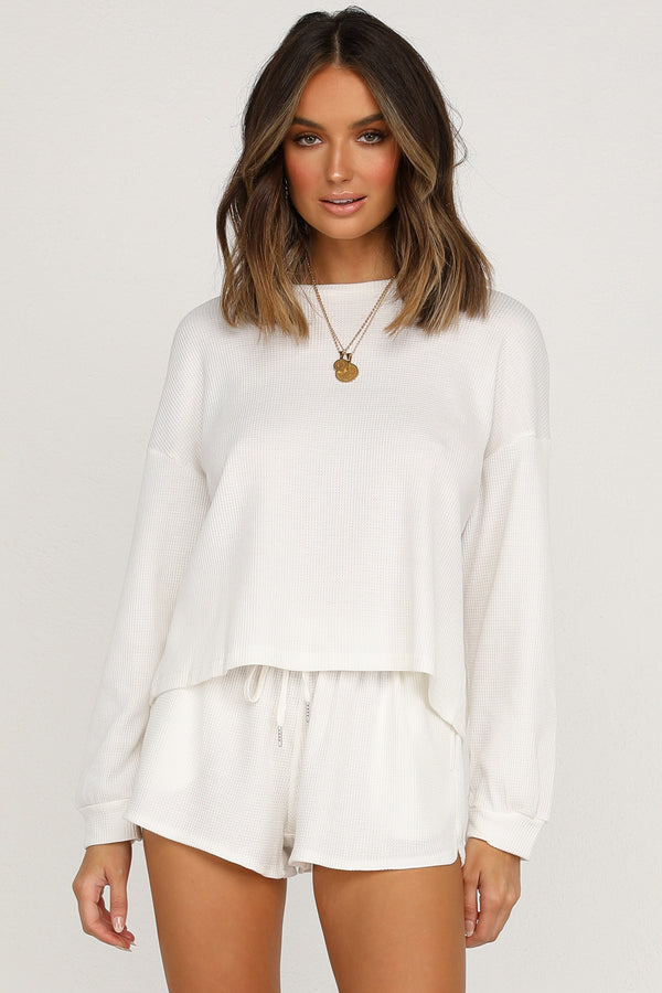 On Track Knit (White)