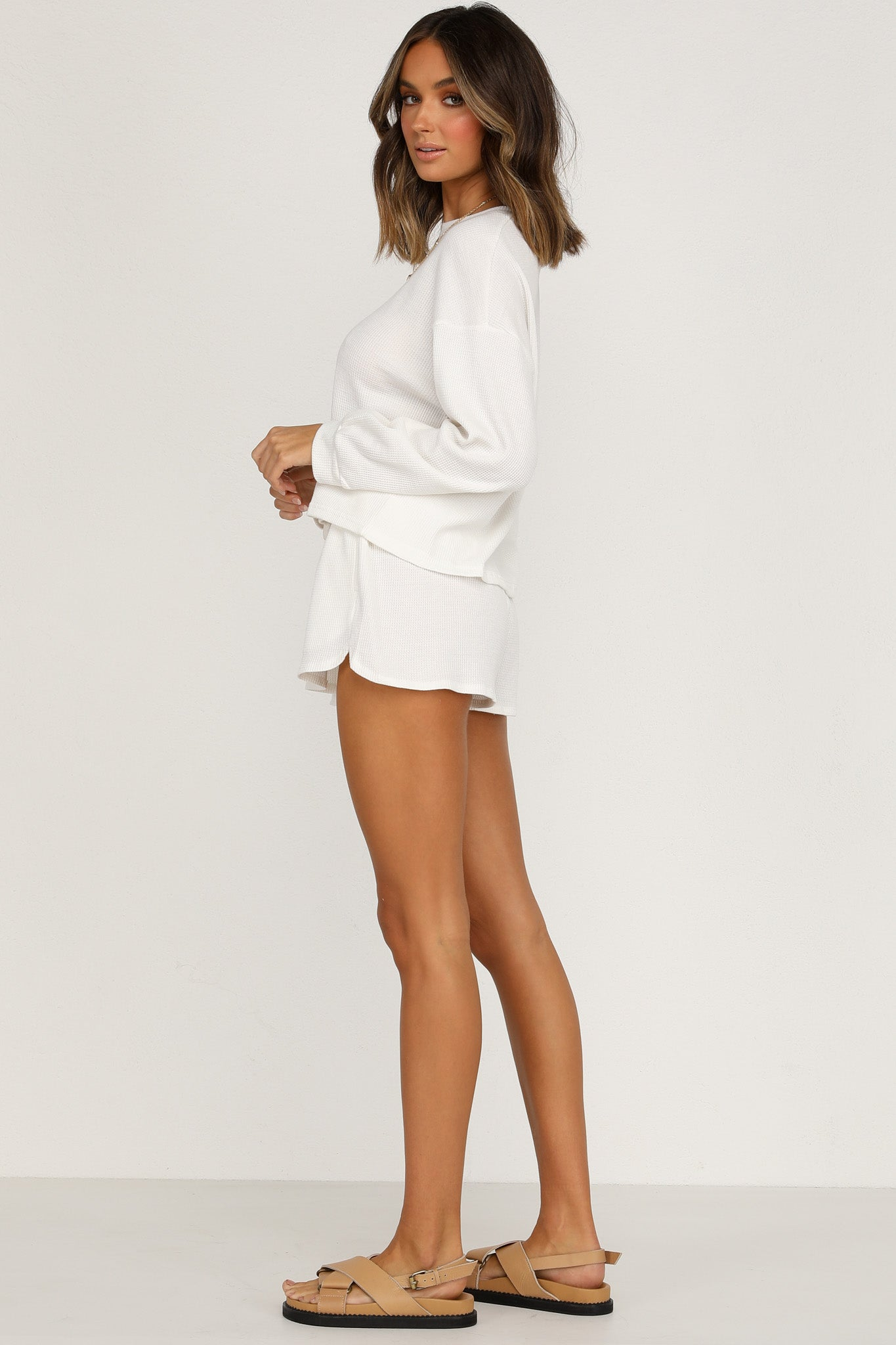 On Track Shorts (White)