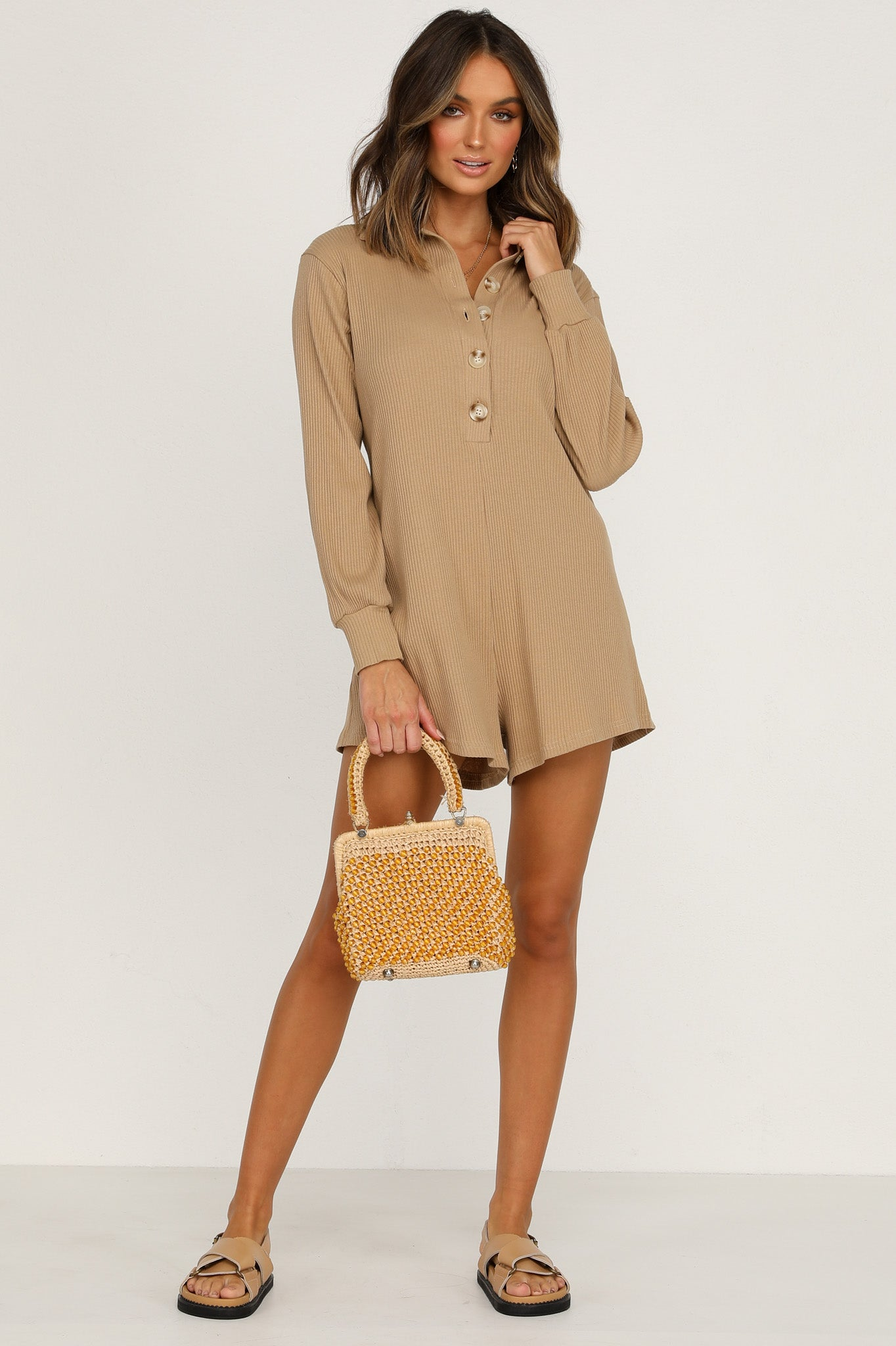 Between The Lines Playsuit