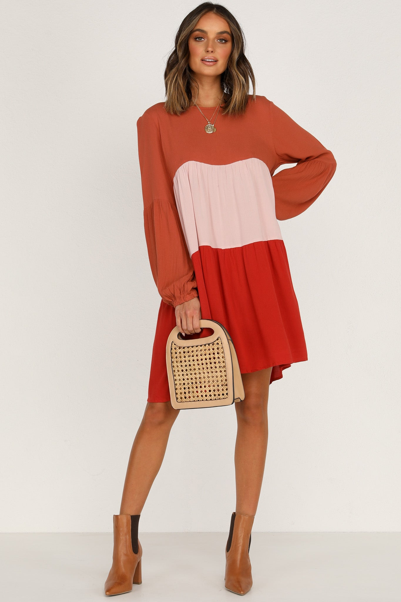 Red Lines Dress